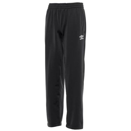 Umbro Classic Pants (For Big Boys) in Black/White