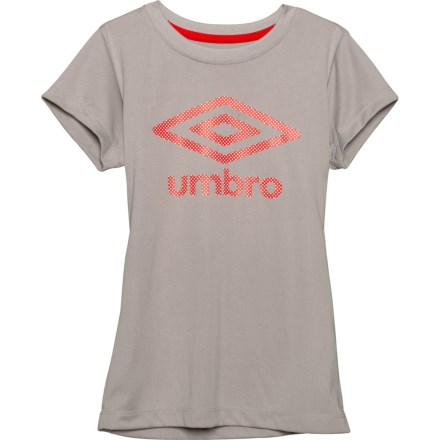 2aa29153d Umbro High-Performance T-Shirt - Short Sleeve (For Big Girls) in