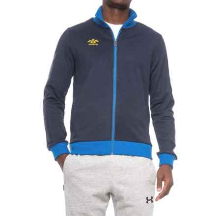 Umbro Signature Jacket - Full Zip (For Men) in Navy/Tw Royal - Closeouts