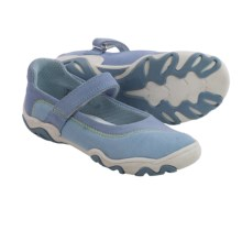 Umi Amery II Mary Jane Shoes - Suede (For Little Girls) in Light Blue Multi - Closeouts