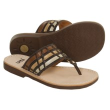 Umi Bisbee Sandals (For Girls) in Chocolate - Closeouts