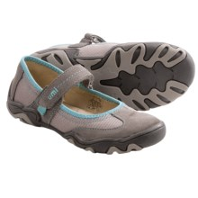 Umi Eeva Mary Jane Shoes (For Little Girls) in Grey Multi - Closeouts