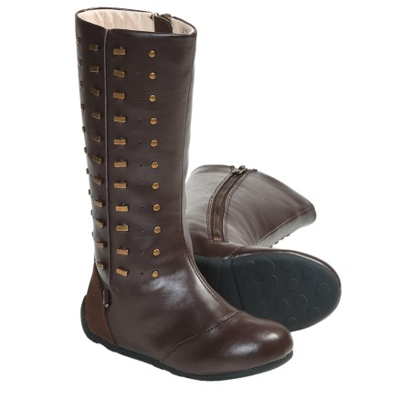 Umi Hadey Boots (For Kid and Youth Girls) in Chocolate