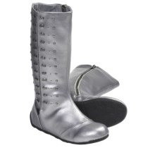 Umi Hadey Boots (For Kid and Youth Girls) in Pewter - Closeouts