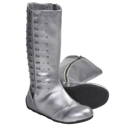 Umi Hadey Boots (For Kid and Youth Girls) in Pewter