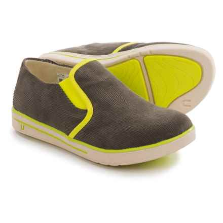 Umi Joss II Shoes - Slip-Ons (For Little and Big Kids) in Dark Grey - Closeouts