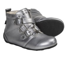 Umi Kyraa Boots (For Kid and Youth Girls) in Pewter - Closeouts