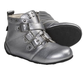 Umi Kyraa Boots (For Kid and Youth Girls) in Pewter