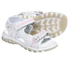 Umi Louise Sandals - Adjustable Straps (For Little and Youth Girls) in White - Closeouts