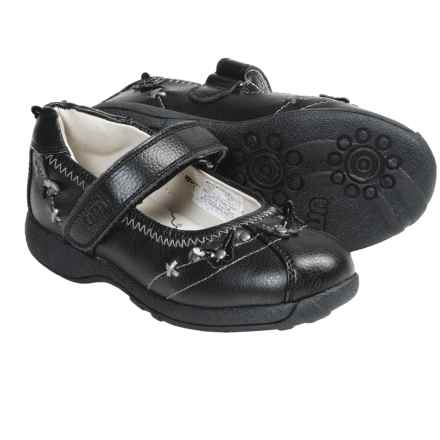 Umi Paley Mary Janes (For Kid and Youth Girls) in Black - Closeouts