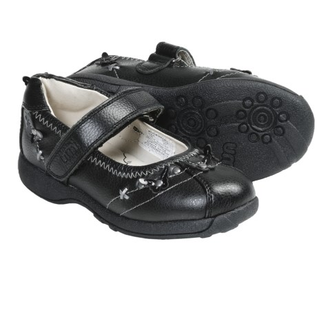 Umi Paley Mary Janes (For Kid and Youth Girls) in Black