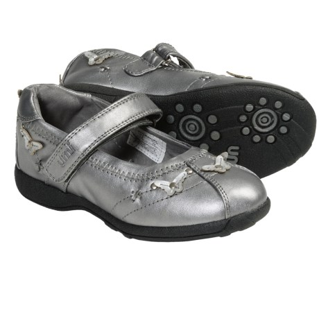 Umi Paley Mary Janes (For Kid and Youth Girls) in Pewter
