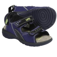 Umi Payton Sandals (For Toddlers Kids and Youth) in Indigo - Closeouts
