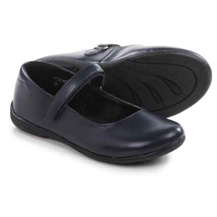 Umi School Lana II Mary Jane Shoe Shoes - Vegan Leather (For Little and Big Girls) in Navy - Closeouts