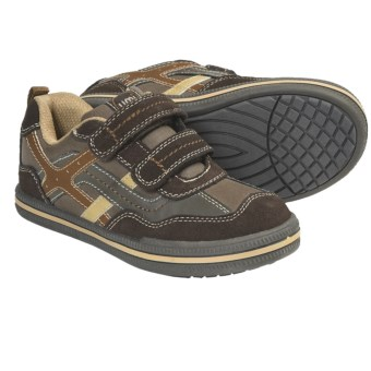 Umi Tyler Shoes - Adjustable Straps (For Kids and Youth) in Chocolate Multi
