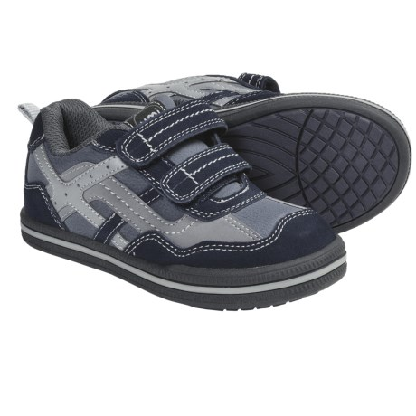 Umi Tyler Shoes - Adjustable Straps (For Kids and Youth) in Navy Multi