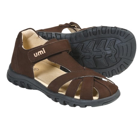 Umi Whitny Sandals (For Toddlers Kids and Youth) in Chocolate