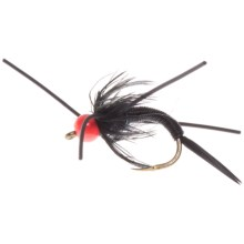 Umpqua Feather Merchants Barr Jumbo John Nymph Fly - Dozen in Black/Pink Bead - Closeouts