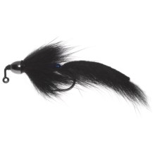Umpqua Feather Merchants Barr Slump Buster Jigged Streamer Fly - Dozen in Black - Closeouts