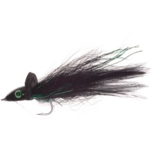 Umpqua Feather Merchants Bisharat Bubbleicious Streamer Fly - 6-Count in Black - Closeouts