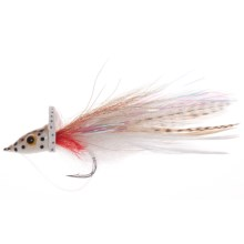 Umpqua Feather Merchants Bisharat Bubbleicious Streamer Fly - 6-Count in Brown/White - Closeouts
