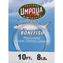 Umpqua Feather Merchants Bonefish Leader - Tapered 10' in See Photo - Closeouts