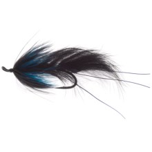 Umpqua Feather Merchants Bruiser Streamer Fly - Dozen in Black/Blue - Closeouts