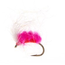 Umpqua Feather Merchants Electric Glo Spawn Egg Fly - Dozen in Cerise - Closeouts