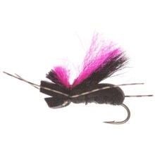 Umpqua Feather Merchants Grillos Fat Caddis Dry Fly - Dozen in Black - Closeouts