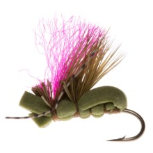 Umpqua Feather Merchants Grillos Fat Caddis Dry Fly - Dozen in Olive - Closeouts