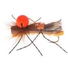 Umpqua Feather Merchants Grillos Sideshow Bob Dry Fly - Dozen in Gold - Closeouts