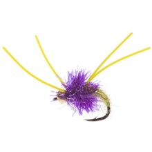 Umpqua Feather Merchants Hieronymus Money Bug Streamer Fly - Dozen in New Wave - Closeouts