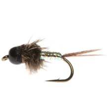 Umpqua Feather Merchants Mercer Glint Nymph Fly - Dozen in Opal Belly - Closeouts