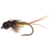 Umpqua Feather Merchants Mercer Glint Nymph Fly - Dozen in Yellow Belly - Closeouts