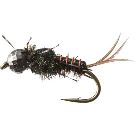 Umpqua Feather Merchants Morrish's Anato-May TB Nymph Fly - Dozen in Peacock - Closeouts