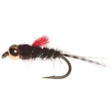 Umpqua Feather Merchants Naranja's Tombstone Nymph Fly - Dozen in Dark Brown - Closeouts