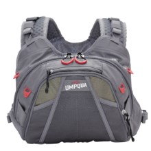 Umpqua Feather Merchants Overlook 500 Chest Pack in Gray - Closeouts
