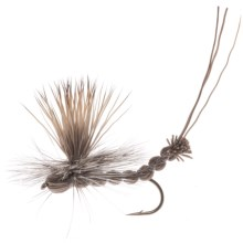 Umpqua Feather Merchants Paradrake Dry Fly - Dozen in Gray - Closeouts
