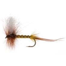 Umpqua Feather Merchants Potter Drake Wulff Dry Fly - Dozen in Yellow - Closeouts