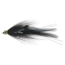 Umpqua Feather Merchants Scooter Smiths Saltwater Fly - Dozen in Black - Closeouts