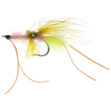 Umpqua Feather Merchants Scott's Crimp Saltwater Fly - Dozen in Pink/Chartreuse - Closeouts