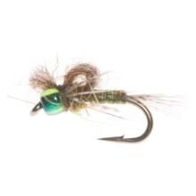 Umpqua Feather Merchants Slow Guy Nymph Fly - Dozen in Bwo - Closeouts