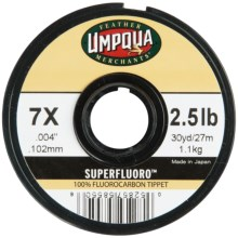 Umpqua Feather Merchants SuperFluoro Tippet Material - 30 yds. in See Photo - Closeouts