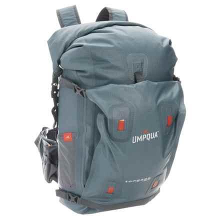 Umpqua Feather Merchants Tongass 1800 Backpack - Waterproof in Steel Blue - Overstock