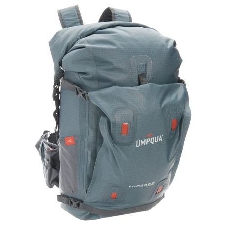 Umpqua Feather Merchants Tongass 1800 Backpack - Waterproof in Steel Blue