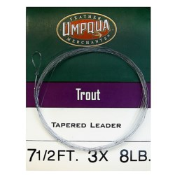 Umpqua Feather Merchants Trout Leader - Tapered, 7-1/2' in See Photo