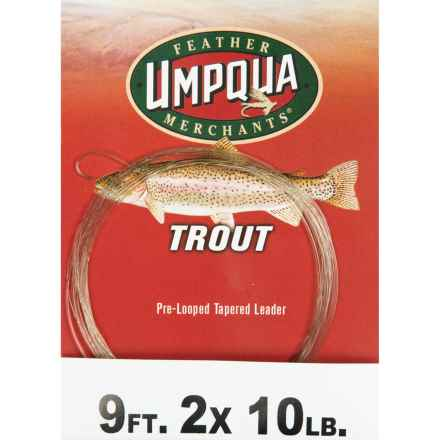 Umpqua Feather Merchants Trout Leader - Tapered, 9' in See Photo - Closeouts