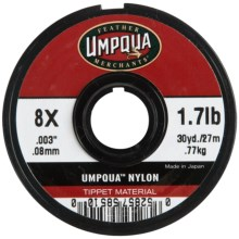 Umpqua Feather Merchants Umpqua Nylon Tippet Material - 30 yds., 8X-0X in See Photo - Closeouts