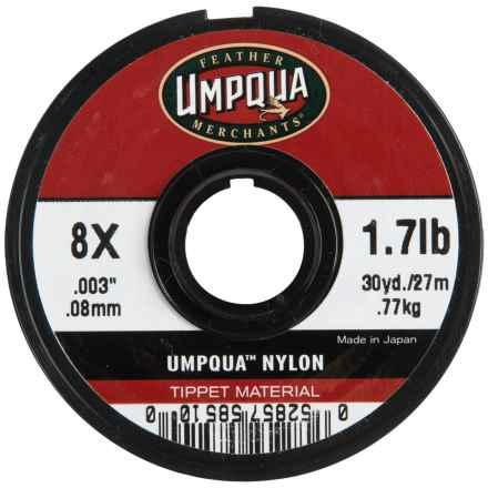 Umpqua Feather Merchants Umpqua Nylon Tippet Material - 30 yds., 8X-0X in See Photo - Closeouts