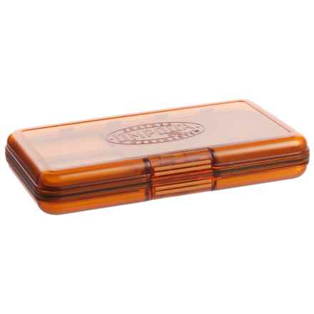 Umpqua Feather Merchants UPG Magnum Midge Fly Box in Orange - Closeouts